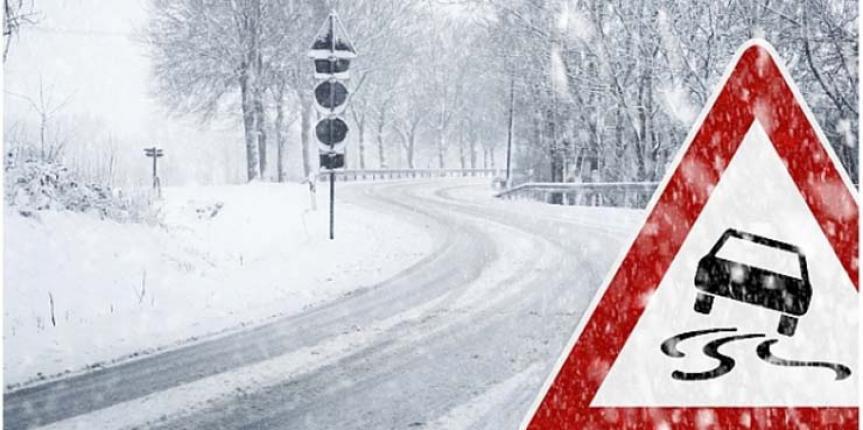 Señal de alerta Recomendación Cadenas de Nieve