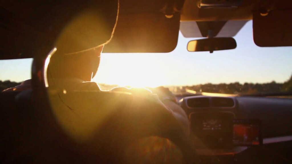deslumbramientos en la carretera